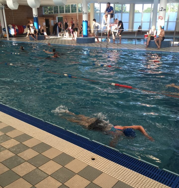 Stage 1 - 200m swim