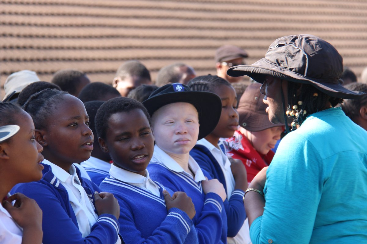 Concert at the Ethembeni School