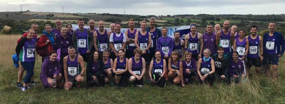 Coxhoe 10K Trail Race Group Photo - photo by Catherine Smith